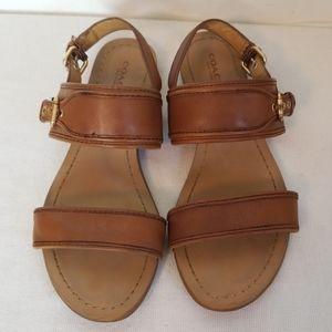 Coach Canal Double Strap Sandals
